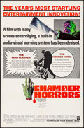 "Movie Posters:Horror, Chamber of Horrors (Warner Brothers, 1966). Folded, Very Fine. OneSheet (27"" X 41""). Horror.. ..."
