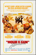 """Movie Posters:Western, Hour of the Gun (United Artists, 1967). Folded, Very Fine+. OneSheet (27"""" X 41""""). Western.. ..."""