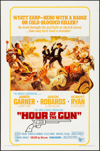 """Hour of the Gun (United Artists, 1967). Folded, Very Fine+. One Sheet (27"""" X 41""""). Western"""