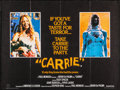 "Movie Posters:Horror, Carrie & Other Lot (United Artists, 1976). Folded, Very Fine.British Quad (30"" X 40"") & One Sheets (2) (27"" X 41"").Horror.... (Total: 3 Items)"