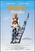 "Movie Posters:Foreign, Cinema Paradiso (Sovereign, 1989). Folded, Very Fine-. Spanish One Sheet (26.75"" X 39.75""). Foreign.. ..."