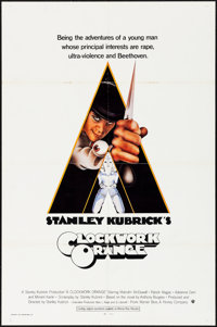 "A Clockwork Orange (Warner Brothers, 1971). Folded, Fine/Very Fine. International One Sheet (27"" X 41""). Phili..."