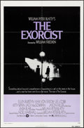 "Movie Posters:Horror, The Exorcist (Warner Brothers, 1974). Folded, Very Fine. One Sheet(27"" X 41""). Horror.. ..."