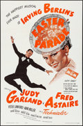 "Movie Posters:Musical, Easter Parade (MGM, R-1962). Folded, Very Fine+. One Sheet (27"" X41""). Musical.. ..."