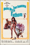 "Movie Posters:Adventure, Fathom (20th Century Fox, 1967). Folded, Fine+. One Sheet (27"" X41""). Adventure.. ..."