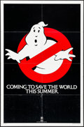 """Movie Posters:Comedy, Ghostbusters (Columbia, 1984). Folded, Very Fine-. One Sheet (27"""" X41"""") Teaser Style. Comedy.. ..."""