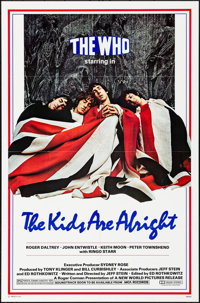 """The Kids Are Alright (New World, 1979). Folded, Very Fine/Near Mint. One Sheet (27"""" X 41""""). Rock and Roll"""