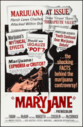 "Movie Posters:Exploitation, Maryjane (American International, 1968). Folded, Fine/Very Fine. One Sheet (27"" X 41""). Exploitation.. ..."