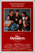 "Movie Posters:Crime, The Outsiders (Warner Brothers, 1982). Folded, Very Fine+. OneSheet (27"" X 41""). Style A. Crime.. ..."