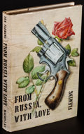 """Movie Posters:James Bond, From Russia with Love by Ian Fleming (Macmillan, 1957). Very Fine-.First Edition US Hardcover Book (258 Pages, 5.75"""" X 8.5""""..."""