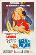 "Movie Posters:Foreign, Love on a Pillow (Royal Films International, 1963). Folded, VeryFine-. One Sheet (27"" X 41""). Foreign.. ..."