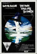 "Movie Posters:Science Fiction, The Man Who Fell to Earth (British Lion Film, 1976). Folded, VeryFine-. British One Sheet (27"" X 40""). Science Fiction.. ..."