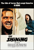 """Movie Posters:Horror, The Shining (Warner Brothers, 1980). Folded, Fine/Very Fine.British One Sheet (27"""" X 40""""). Horror.. ..."""
