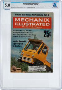 MAGAZINES: Mechanix Illustrated Dated April 1968, Directly From The Armstrong Family Collect