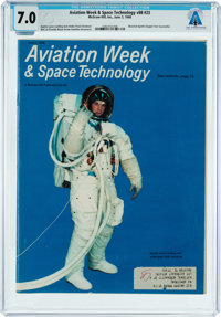 MAGAZINES: Aviation Week & Space Technology Dated June 3, 1968, Directly From The Armstrong