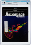 Explorers:Space Exploration, Magazines: Aerospace America Dated January 1992, Directly From The Armstrong Family Collection™, CAG Certified and...