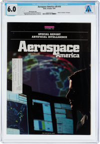 MAGAZINES: Aerospace America Dated October 1991, Directly From The Armstrong Family Collecti
