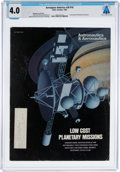 Explorers:Space Exploration, Magazines: Aerospace America Dated October 1982, Directly From The Armstrong Family Collection™, CAG Certified and...