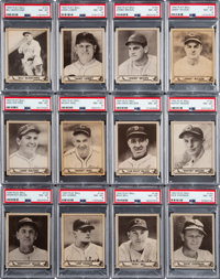 1940 Play Ball PSA NM 7 & NM-MT 8 Collection (25)