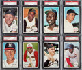 Baseball Cards:Sets, 1964 Topps Giants PSA Mint 9 Collection (17)....