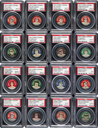 1909-12 PX7 Domino Discs PSA-Graded Collection (33)