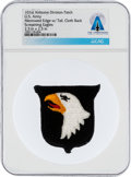 Explorers:Space Exploration, Patches: U.S. Army 101st Airborne Division Patch, The Screaming Eagles, Directly From The Armstrong Family Collection, CAG Cer...