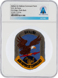 Patches: U.S. Air Force Skilled Air Defense Command Cut Edge Patch Directly From The Armstrong Family Collection™, CAG C...