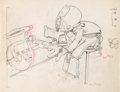 Animation Art:Production Drawing, Mickey's Amateurs Goofy Animation Drawing (Walt Disney, 1937).. ...