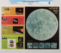 Explorers:Space Exploration, 1969 Ronald McDonald Official Rand McNally Map of the Moon Directly From The Armstrong Family Collection™, CAG Certified. ...