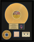 Music Memorabilia:Awards, George Harrison Living in the Material World RIAA HologramGold Sales Award (Apple/Capitol, 1973). . ...