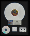 Music Memorabilia:Awards, Prince Around the World in a Day RIAA Hologram Platinum Sales Award (Warner Bros./Paisley Park, 1985). . ...