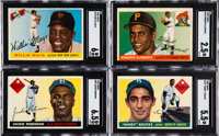 1955 Topps Baseball Shoebox Collection (347) With Clemente and Koufax