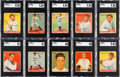 Baseball Cards:Sets, 1933 Goudey Baseball Near Set (229/239)....