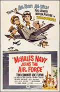 "Movie Posters:Comedy, McHale's Navy Joins the Air Force (Universal, 1965). Folded, VeryFine-. One Sheet (27"" X 41""). Comedy.. ..."