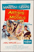 """Movie Posters:Comedy, Artists and Models & Other Lot (Paramount, 1955). Folded,Overall: Very Fine-. One Sheets (2) (27"""" X 41""""). Joseph SmithArtw... (Total: 2 Items)"""