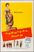 "Movie Posters:Rock and Roll, Carnival Rock (Howco International, 1957). Folded, Very Fine-. One Sheet (27"" X 41""). Rock and Roll.. ..."