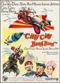 "Movie Posters:Fantasy, Chitty Chitty Bang Bang (United Artists, 1969). Folded, Very Fine-.Italian 4 - Fogli (55"" X 77""). Fantasy.. ..."