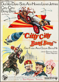 "Chitty Chitty Bang Bang (United Artists, 1969). Folded, Very Fine-. Italian 4 - Fogli (55"" X 77""). Fantasy..."