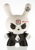 Collectible:Contemporary, Huck Gee X Kidrobot. Skullhead Dunny, 2009. Painted cast vinyl. 20 x 12 x 8 inches (50.8 x 30.5 x 20.3 cm). Signed in si...