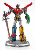 Collectible:Contemporary, Sideshow . Voltron Maquette, 2018. Vinyl, resin, and metal. 27 x 14-1/2 x 14-1/2 inches (68.6 x 36.8 x 36.8 cm). Ed. 266...