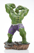 Collectible:Contemporary, Sideshow . Hulk, 2018. Hand-painted polystone. 28 x 16 x 17 inches (71.1 x 40.6 x 43.2 cm). Ed. 430/500. Stamped and num...