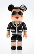 Other:Contemporary, BE@RBRICK X Chanel. Coco Chanel 1000%, 2006. Painted castresin. 28-1/2 x 14-1/2 x 9 inches (72.4 x 36.8 x 22.9 cm). Edi...