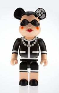 BE@RBRICK X Chanel Coco Chanel 1000%, 2006 Painted cast resin 28-1/2 x 14-1/2 x 9 inches (72.4 x