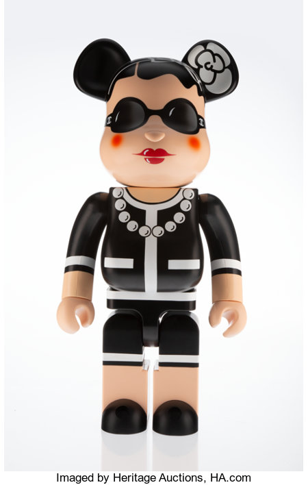 BE@RBRICK X Chanel Coco Chanel 1000%, 2006 Painted cast resin 28-1/2 x 14-1/2 x 9 inches (72.4 x 36.8 x 22.9 cm) Edi...