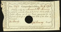 Colonial Notes:Connecticut, Connecticut Interest Payment Certificate £5 1791 Anderson CT-54 Very Fine, HOC.. ...