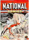 Original Comic Art:Covers, Murphy Anderson National Comics #7 Uncle Sam Cover Re-Creation Original Art (1996)....