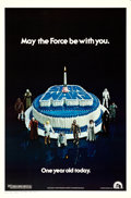 "Movie Posters:Science Fiction, Star Wars (20th Century Fox, 1978). Rolled, Very Fine+. One Sheet (27"" X 41"") Anniversary Birthday Cake Style.. ..."