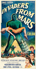 Movie Posters:Science Fiction, Invaders from Mars (20th Century Fox, 1953). Fine/Very Fin...