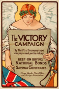 Movie Posters:War, World War I Propaganda (Scottish War Savings Committee, c....