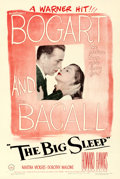"Movie Posters:Film Noir, The Big Sleep (Warner Brothers, 1946). Very Fine- on Linen. One Sheet (27.5"" X 41"").. ..."